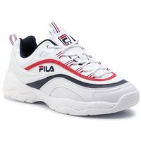 Sneakersy - ray low 1010561.150 white/fila navy/fila red marki Fila