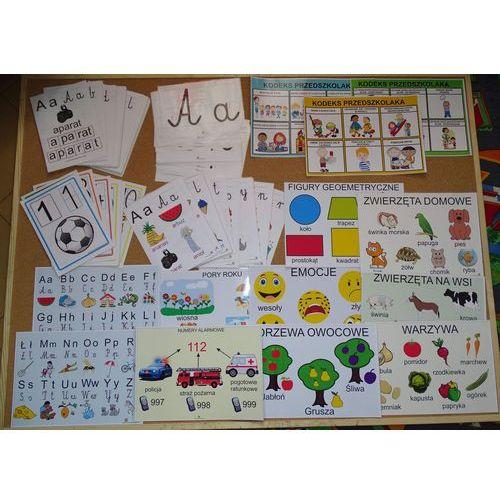 Starter nauczyciela przedszkola nr 2 - zestaw kart i plansz edukacyjnych marki Bystra sowa