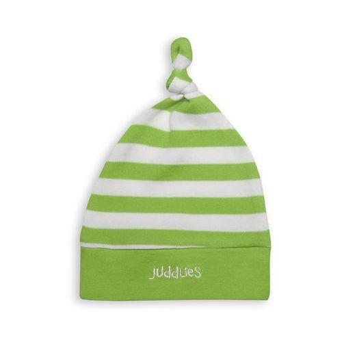 czapka niemowlęca greenery stripe marki Juddlies
