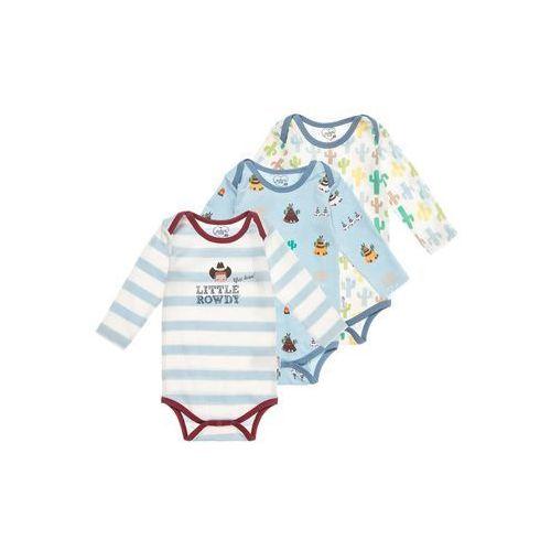 Gelati Kidswear 3 PACK Body hellblau/multicolor