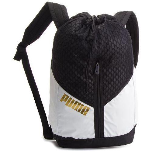 c102aef804f04 Plecak - ambition backpack 075461 01 puma white/puma black marki Puma