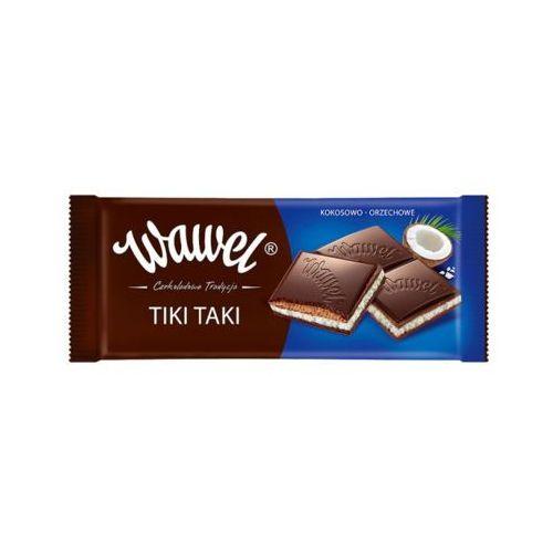 100g tiki taki kokosowo-orzechowe czekolada nadziewana marki Wawel