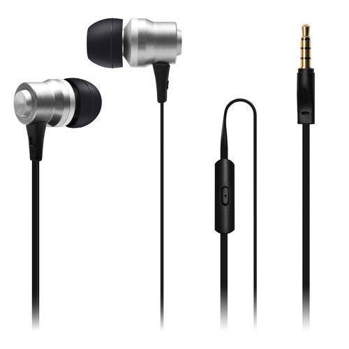 Connect IT Słuchawki EP-223-SL, srebrny (CI-1041) - BEZPŁATNY ODBIÓR: WROCŁAW!