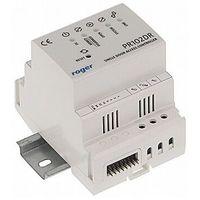 PR102DR Wewnętrzny kontroler dostępu z obsługą dwóch czytników serii PRT na szynę DIN Roger