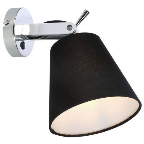 Kinkiet LAMPA ścienna BALI LP-5031/1W BK Light Prestige abażurowa OPRAWA regulowany reflektorek czarny