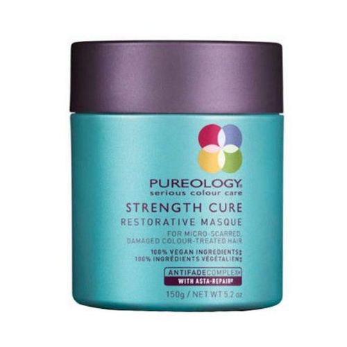 pureology strength cure restorative masque 150ml w maska do włosów farbowanych marki Redken