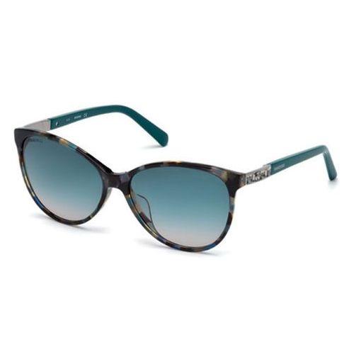 Swarovski Okulary słoneczne sk 0123-h 55p