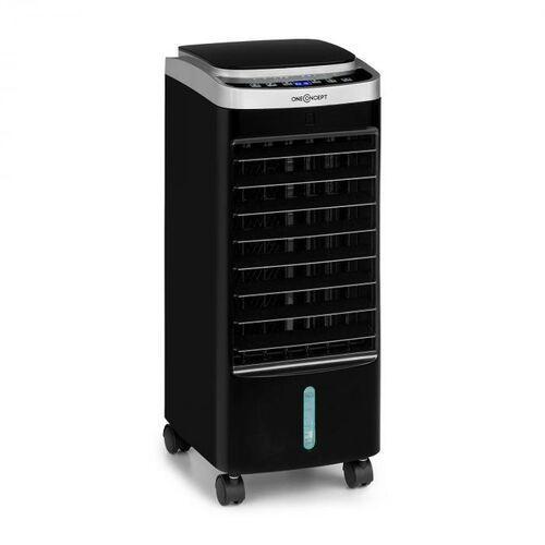 freshboxx pro, chłodnica powietrza, 3 w 1, 65 w, 966 m³/h, 3 prędkości nawiewu, czarna marki Oneconcept