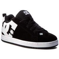 Sneakersy DC - Court Graffik 300529 Black(001), kolor czarny