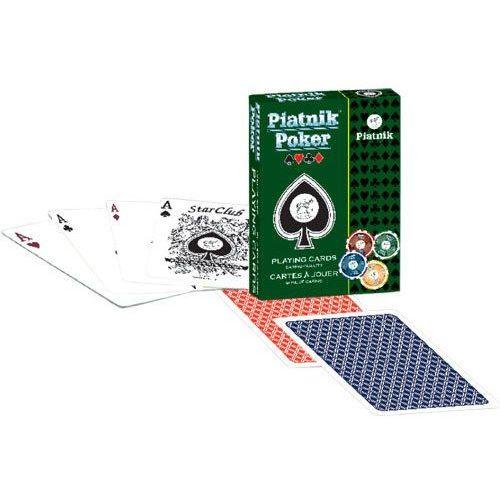 Piatnik Karty do gry 1 talia, piatnik poker (9001890132216)