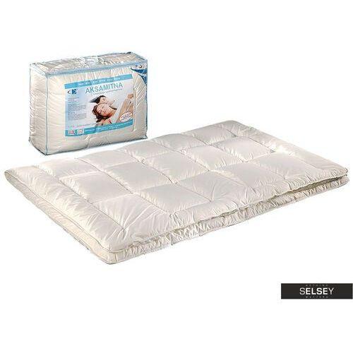 SELSEY Kołdra Aksamitna Duo z poduszkami 50x60 cm kremowa (5900000078417)