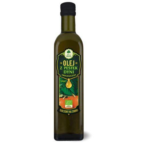 Dary natury - test Olej z pestek dyni bio 500 ml - dary natury (5902581616265)
