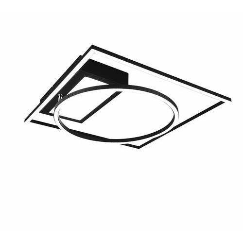 Trio Downey 620510332 plafon lampa sufitowa 1x33W LED czarny (4017807488562)