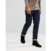co fearless freddie loose taper jean dry ring wash - navy marki Nudie jeans