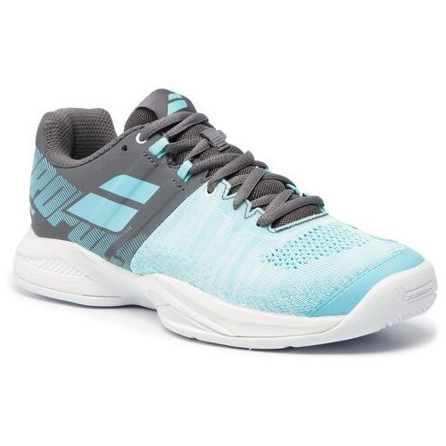 Buty - propulse blast clay 31s19751 grey/blue radiance, Babolat, 36.5-39
