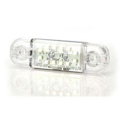 Lampa led pozycyjna przednia 12led slim 12-24v 716 marki Waś