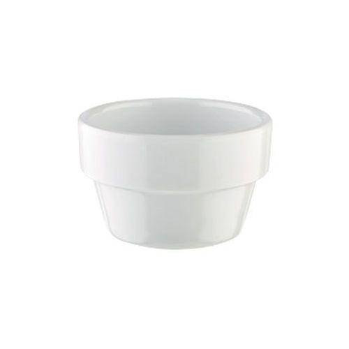 Aps Mini naczynie flower pot z melaminy białe 40 ml