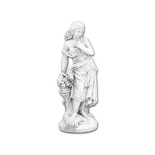 Figura ogrodowa betonowa Kobieta z bukietem 132cm