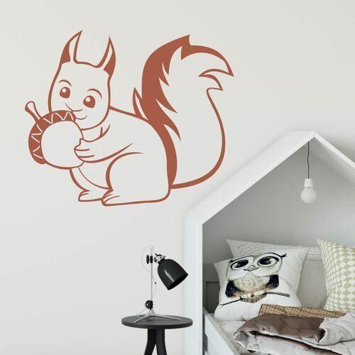 Szablon malarski dla dzieci wiewiórka 2412 marki Wally - piękno dekoracji