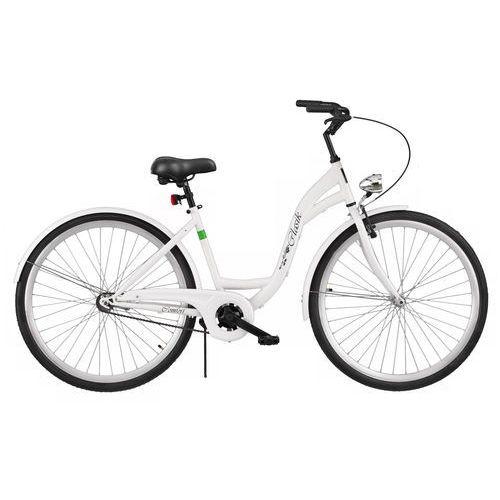 Rower DAWSTAR Retro S1B Biały + 5 lat gwarancji na ramę! + DARMOWY TRANSPORT!
