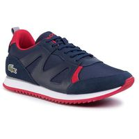 Sneakersy LACOSTE - Aesthet 120 2 Sma 7-39SMA0035144 Nvy/Red, kolor niebieski