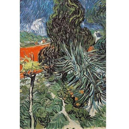 Reprodukcja The Garden of Doctor Gachet at AuverssurOise (Le jardin du docteur 1890 Vincent van Gogh
