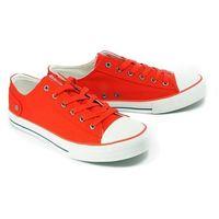 Big star dd174274 czerwony, półtrampki męskie - czerwony