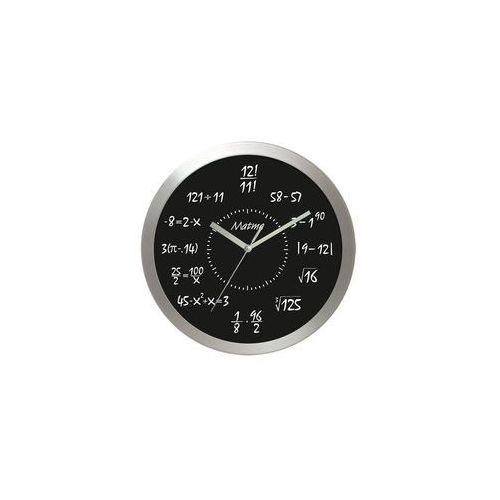 Zegar aluminiowy matematyka #8, AL2412M8