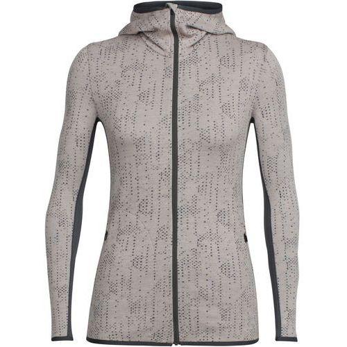 Icebreaker away showers kurtka kobiety beżowy l 2018 kurtki wełniane