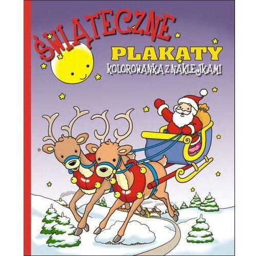Mcd Świąteczne plakaty do kolorowania - czerwona - (9788365562241)