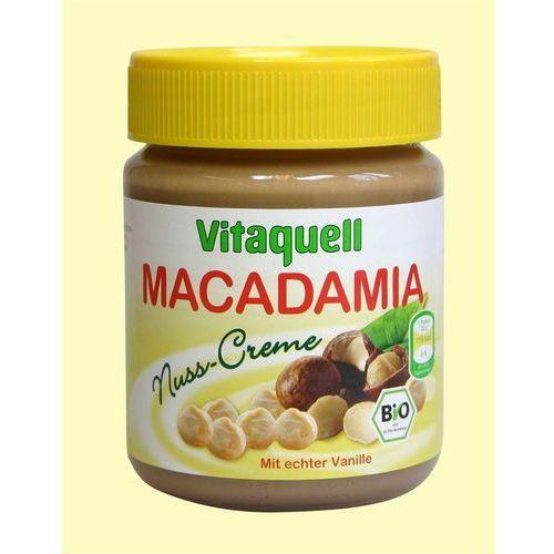 Masło z orzechów macadamia BIO 250g - Vitaquell z kategorii Masła orzechowe, kakaowe i inne