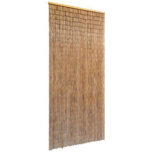 Vidaxl bambusowa kurtyna, zasłona na drzwi 90x200 cm