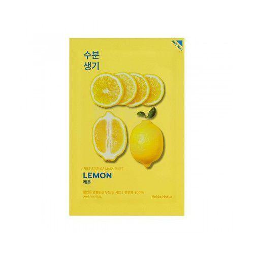 Holika Holika Pure Essence Mask Sheet - Maseczka do twarzy Lemon