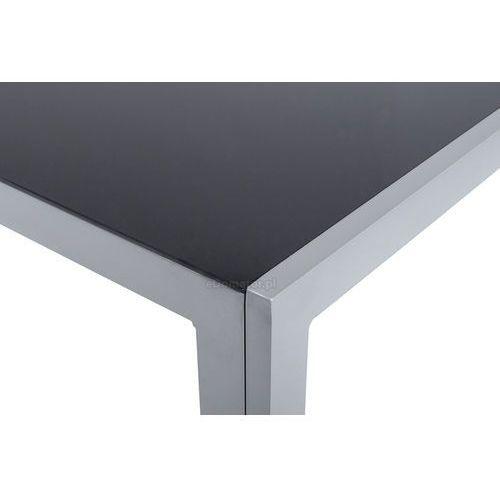 OKAZJA - Edomator.pl Meble ogrodowe składane aluminiowe wenecja stół i 6 krzeseł - srebrne