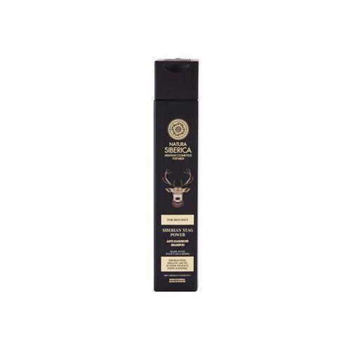 Natura Siberica Men szampon przeciwłupieżowy (Siberian Pine, Organic Artic Juniper Extract, Snow Cladonia) 250 ml