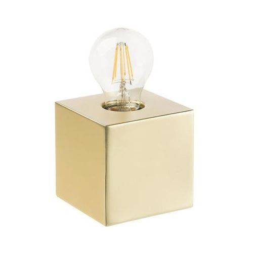 Lampa stołowa SCALY 60W E27 złota INSPIRE