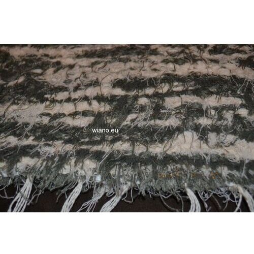 Chodnik bawełniany (wycieraczka) zielono-ecru 65x50 marki Spółdzielnia twórców ludowych