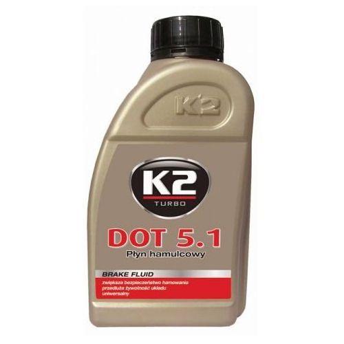 K2 Płyn hamulcowy  dot5.1 0,5litra syntetyczny