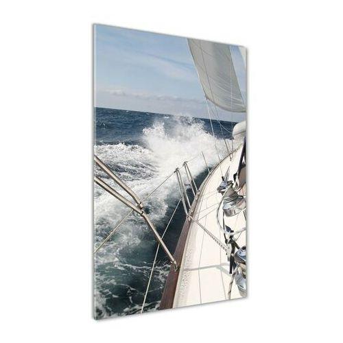Foto obraz akryl do salonu Jacht na morzu