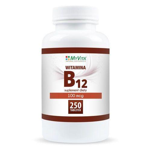 Witamina B12 MyVita, 250 tabletek (5905279123908)