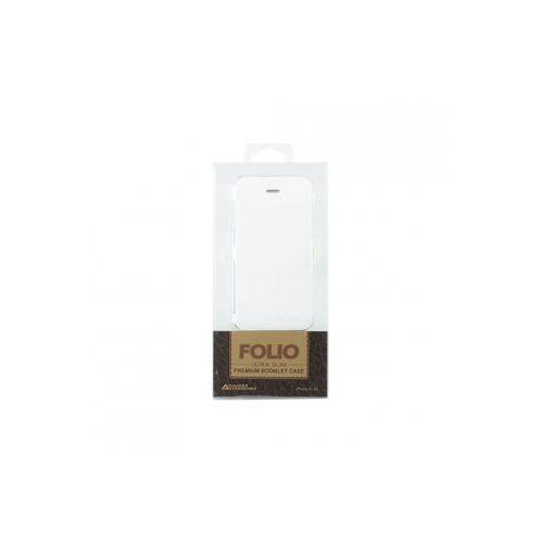 ADVANCED ACCESSORIES Etui FOLIO FLIP Ultra Slim dedykowane do Apple iPhone 4/4S - białe Odbiór osobisty w ponad 40 miastach lub kurier 24h