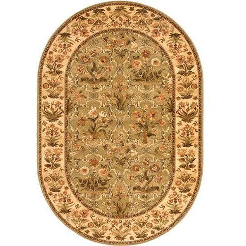 Dywan isfahan olandia oliwka (owal) 160x240 marki Agnella