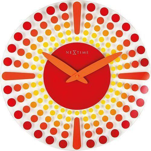 Zegar ścienny dreamtime czerwony marki Nextime
