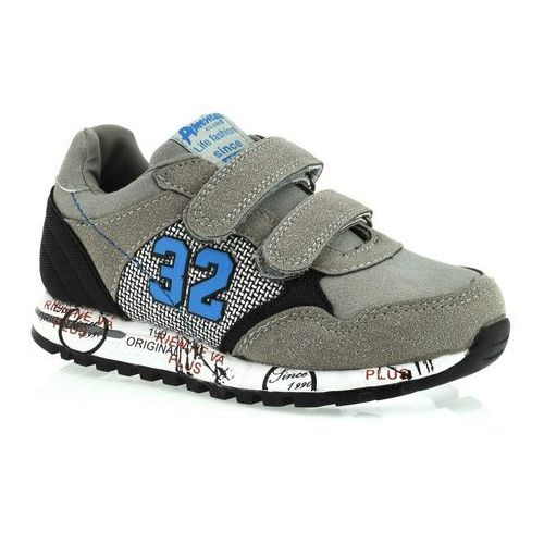 Sportowe buty dla dzieci American Club K152753 - Szary, kolor szary