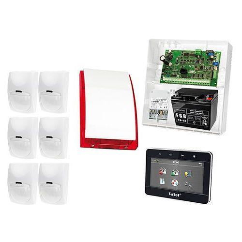Satel set Zestaw alarmowy: płyta główna integra 32, manipulator dotykowy int-tsg-bsb, 6x czujka bingo, sygnalizator zewnetrzny spl-5010 r, akcesoria