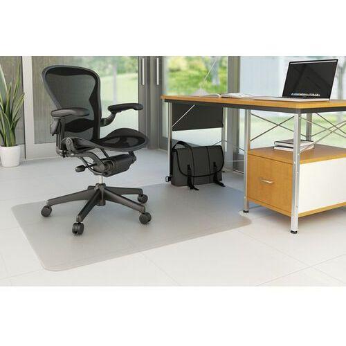 Mata pod krzesło , na podłogi twarde, 134,6x114,3cm, kształt t marki Q-connect