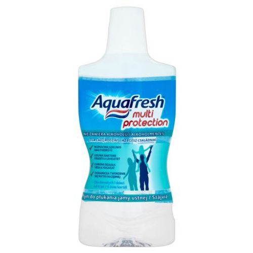 Aquafresh, Triple Protection Mild & Minty. Płyn do ust, 500ml - GSK