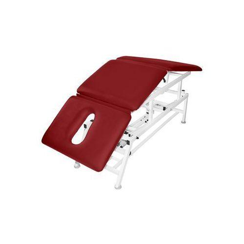 Bardo-med Stół rehabilitacyjny 3-cz. elektryczny z funkcją pivot ręczny master 3e-p