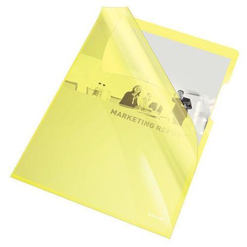 Ofertówka krystaliczna żółta a4 150mic. 25szt. marki Esselte