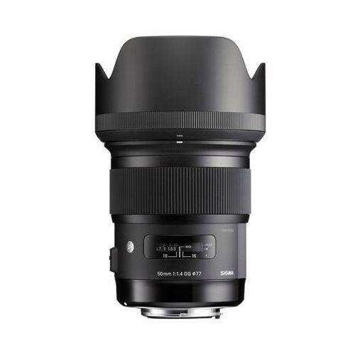 Sigma 50mm f/1,4 dg hsm art - nikon - przyjmujemy używany sprzęt w rozliczeniu | raty 20 x 0% (0201402133697)